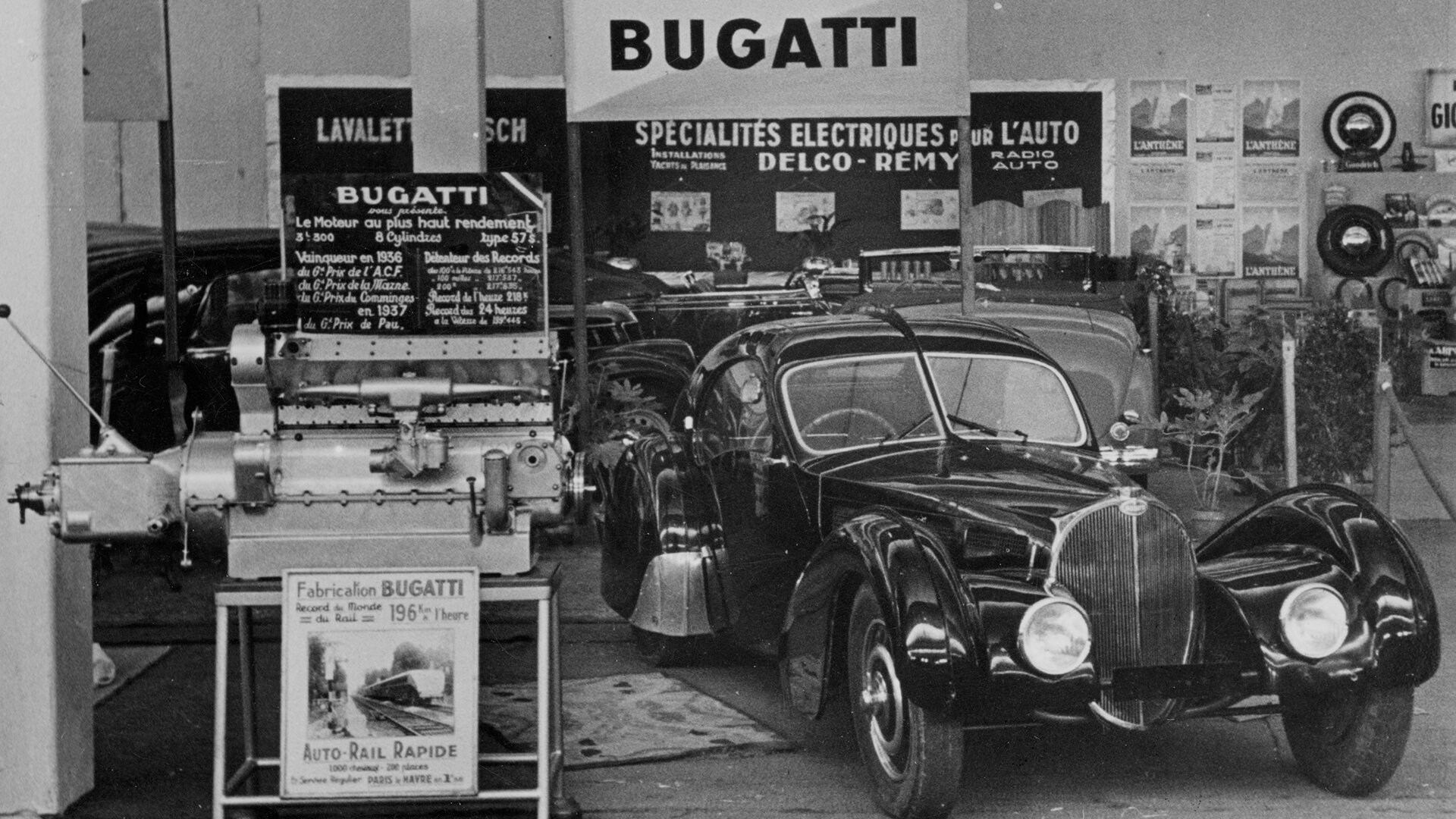 Bugatti retro Type 57 Atlantic