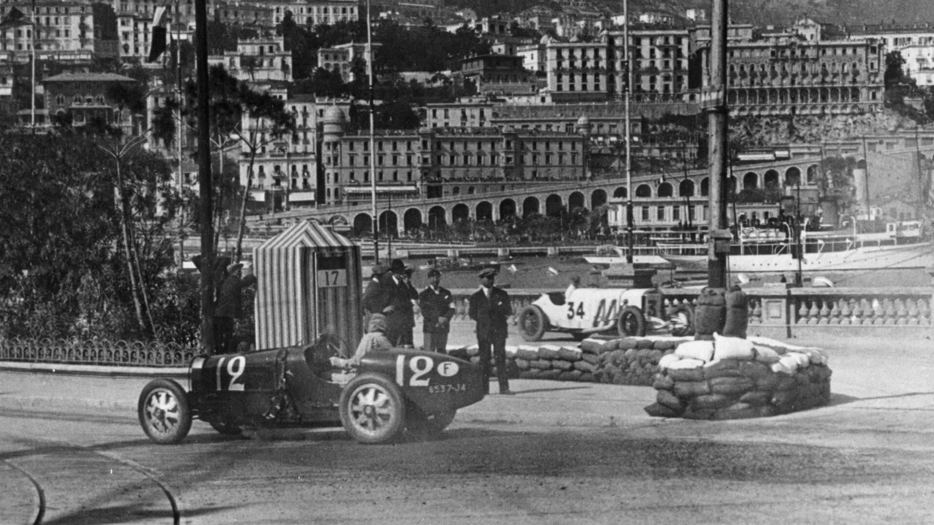 First victory at the First Grand Prix in Monaco in 1929