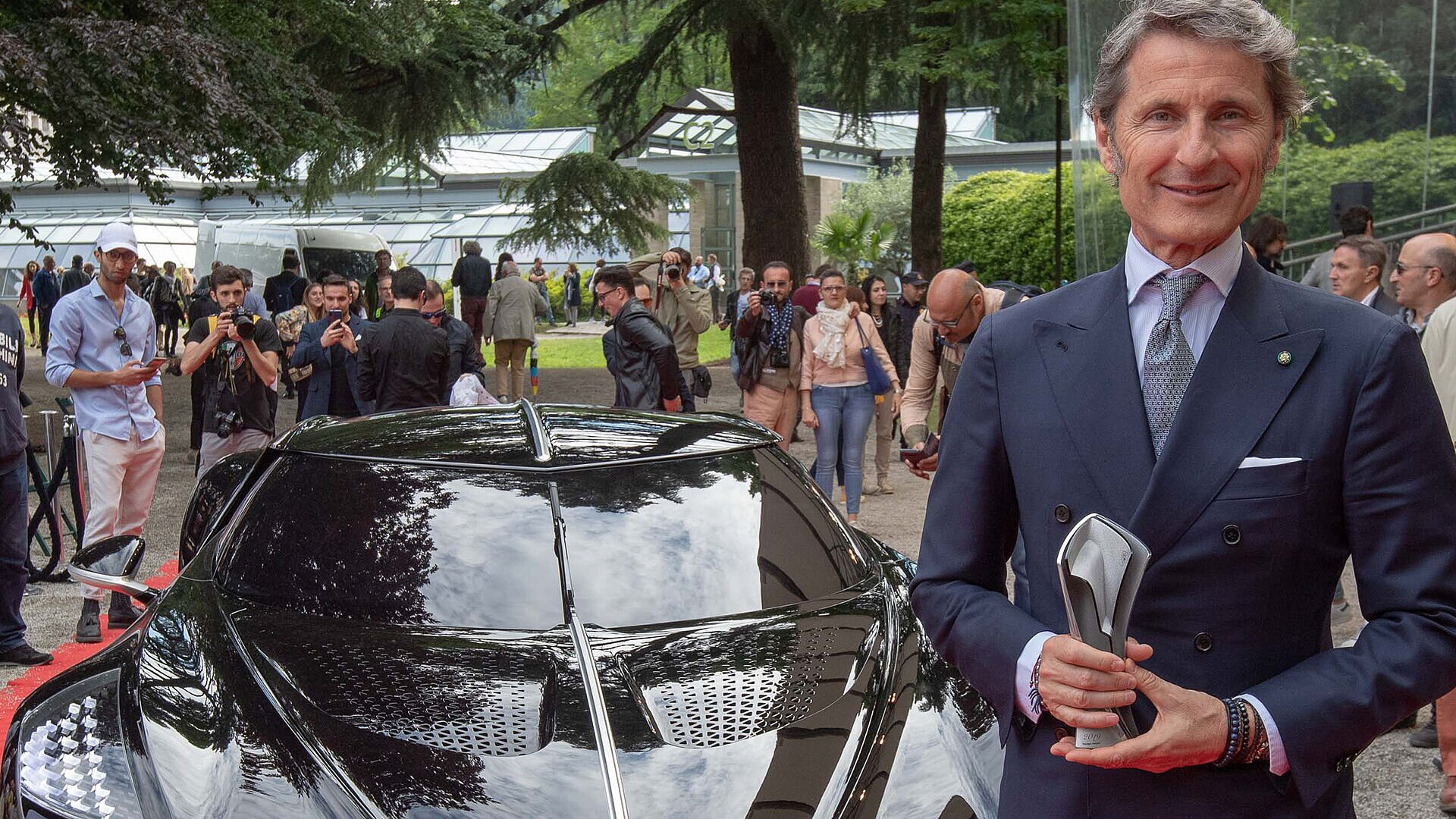[Translate to Français:] Stephan Winkelmann, President of Bugatti