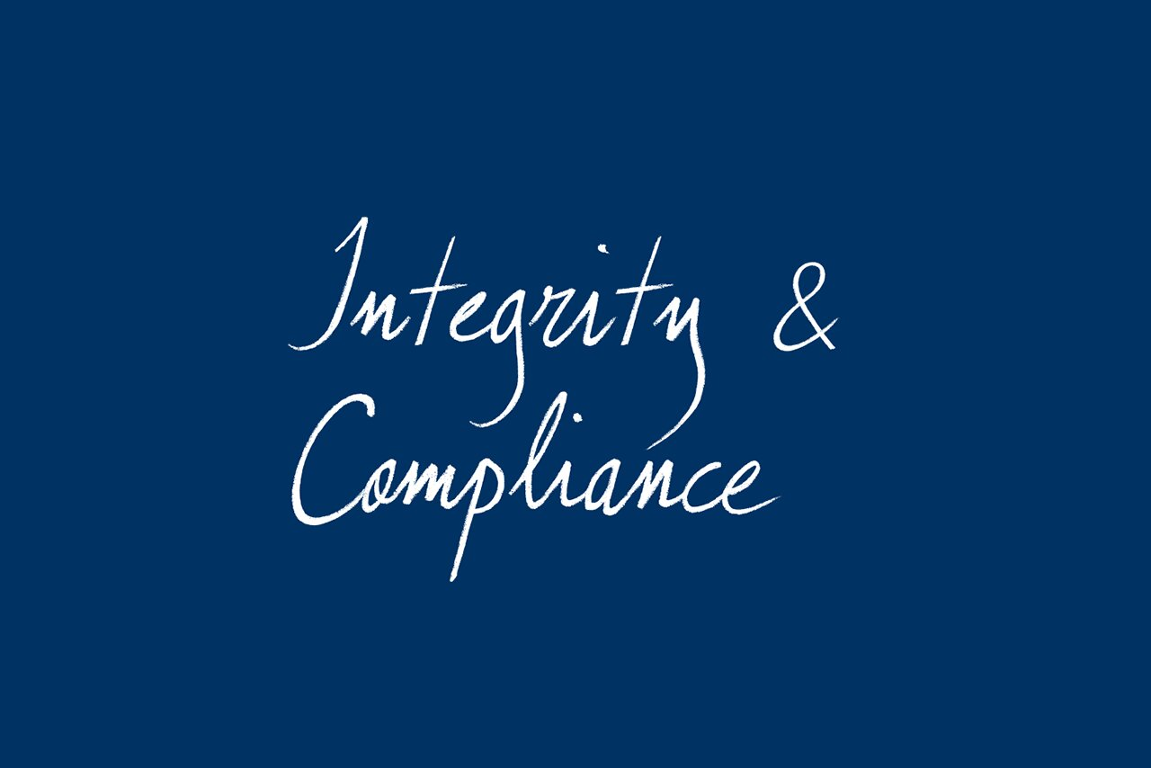 [Translate to Français:] integrity and compliance
