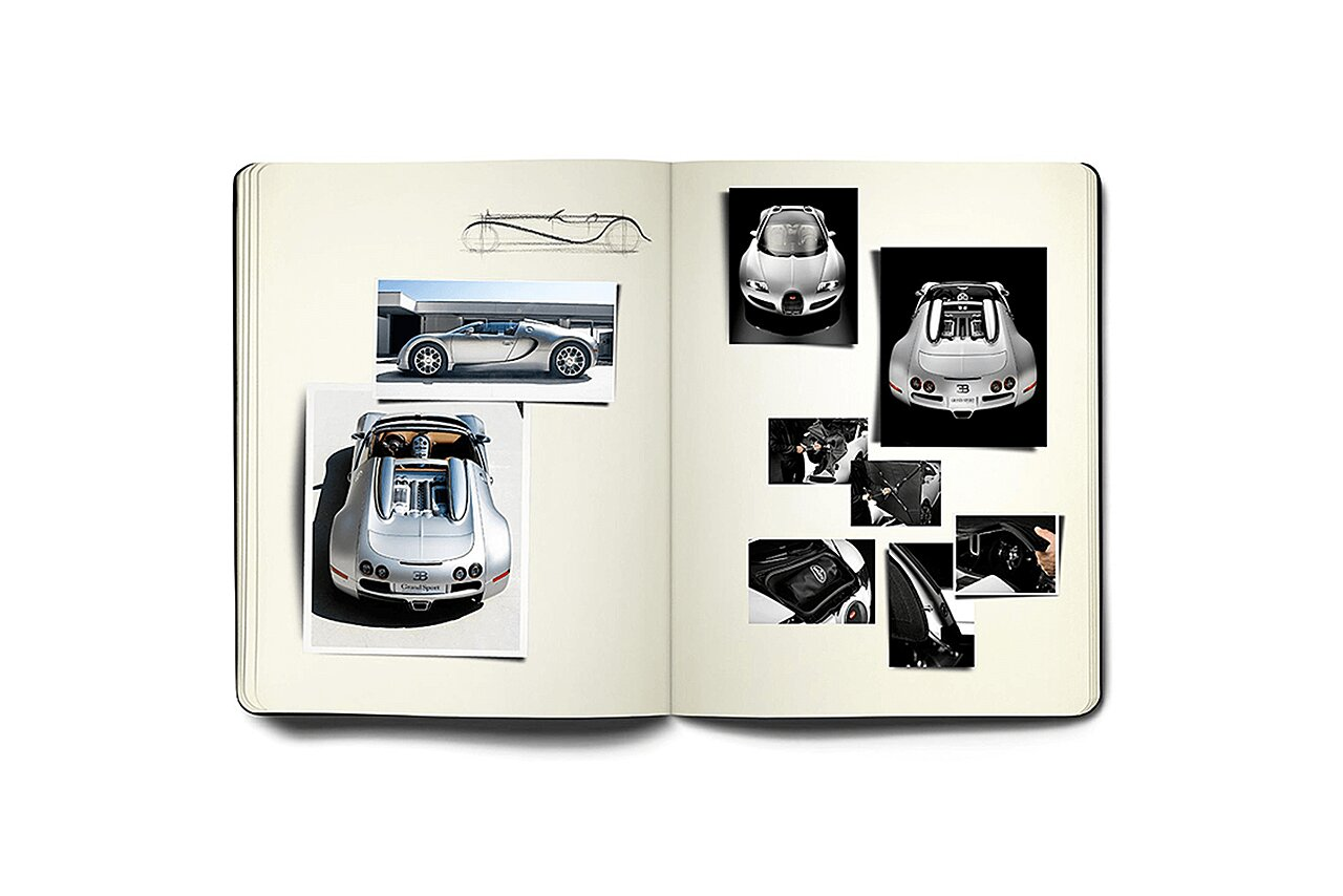 Bugatti Grand Sport Sketchbook
