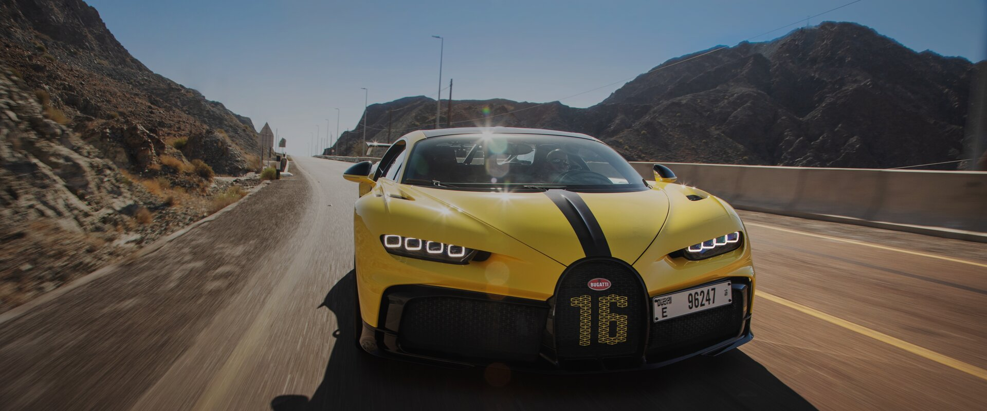Chiron Pur Sport Yellow