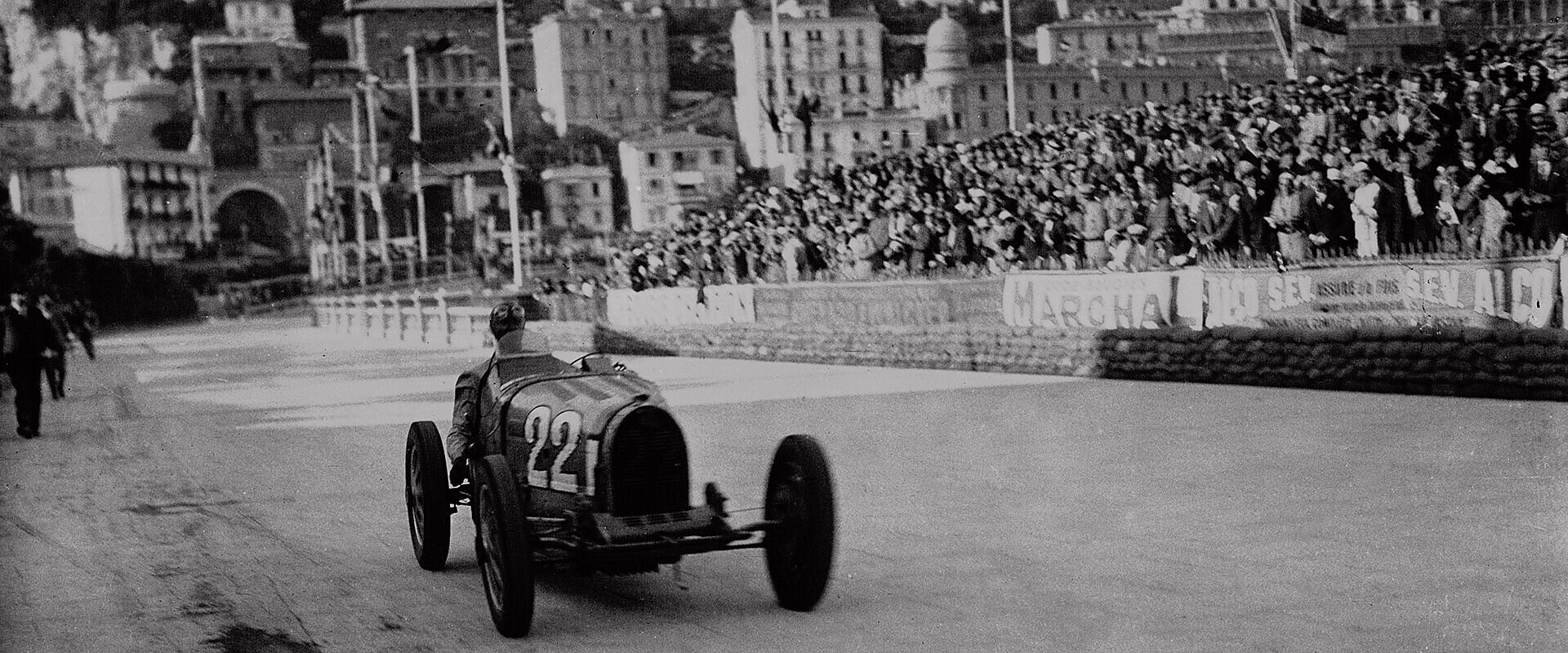Louis Chiron wins the Grand Prix