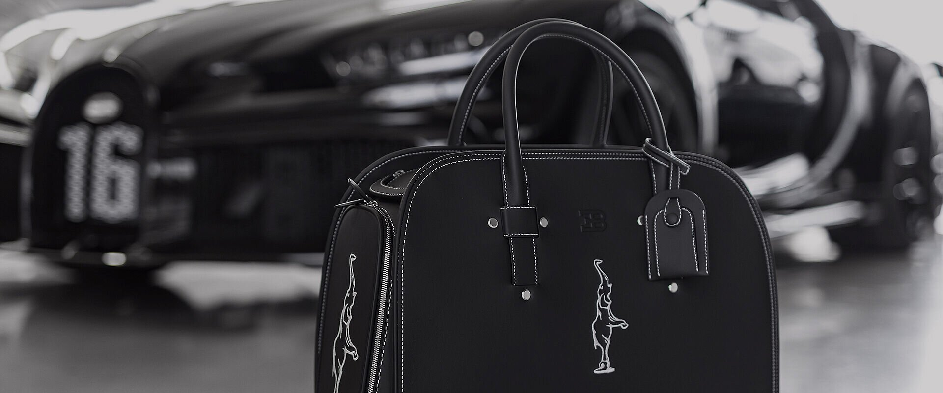 Exquisite luggage on a new level: Custom-fit Chiron baggage is as individual as every Bugatti
